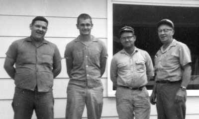 Dale Guyer, 1966 (second from right)